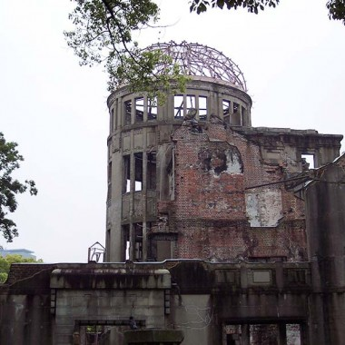 Hiroshima Peace Memorial Dome in Japan
