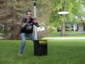 Kan Jam action shot