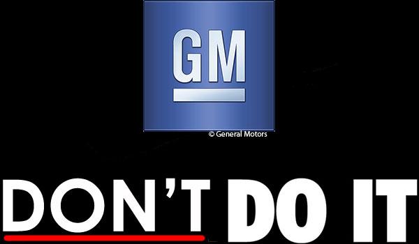 form general motors gm1810